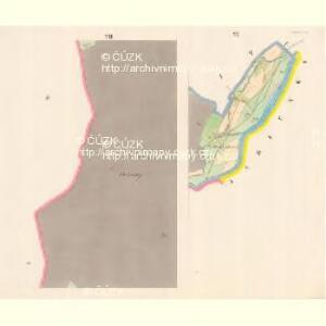 Lomna (Lomno) - m0508-1-006 - Kaiserpflichtexemplar der Landkarten des stabilen Katasters