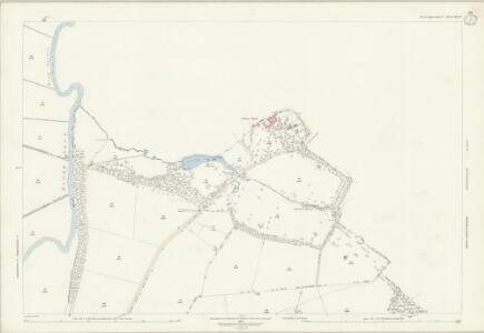 Northamptonshire XIII.11 (includes: Elton; Fotheringhay; Warmington) - 25 Inch Map