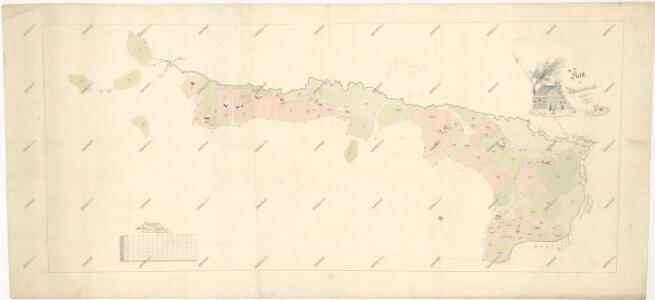 Mapa obce Žebráckého Zďáru