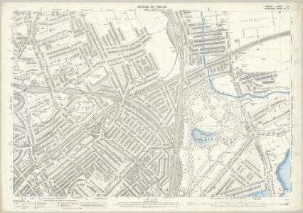 London (Edition of 1894-96) XX (includes: Hornsey St Mary; Islington; Stoke Newington; Tottenham) - 25 Inch Map