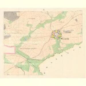 Wostretitz (Wostřetice) - c5575-1-002 - Kaiserpflichtexemplar der Landkarten des stabilen Katasters