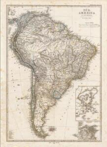 Composite: Sud-America in zwei Blattern.