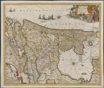 Comitatus Hollandiæ tabula denuo in lucem