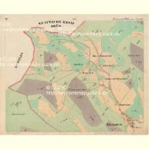 Eisenstrass - c1950-1-005 - Kaiserpflichtexemplar der Landkarten des stabilen Katasters