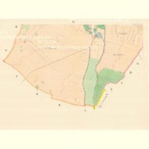Deutsch Loosen (Německy Losky) - m1475-1-003 - Kaiserpflichtexemplar der Landkarten des stabilen Katasters