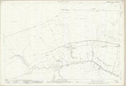Yorkshire IV.14 (includes: Cotherstone; Hunderthwaite; Mickleton) - 25 Inch Map