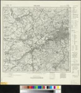 Meßtischblatt 2720 : Elberfeld, 1927