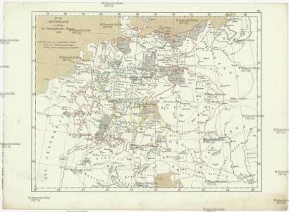 Deutschland zu Anfang des dreissigjährigen Krieges, 1618