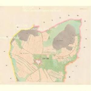Zdenitz - c9213-1-001 - Kaiserpflichtexemplar der Landkarten des stabilen Katasters