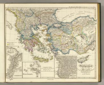Griechenland, Kleinasien, Eroberung Konstantinopel's, 1453.