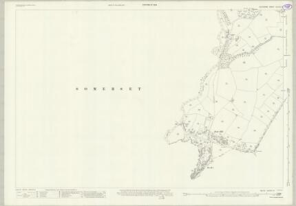 Wiltshire XXXVIII.13 (includes: Rode; Southwick; Tellisford) - 25 Inch Map
