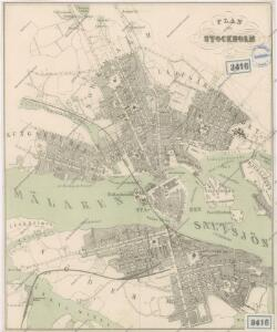 Plan von Stockholm