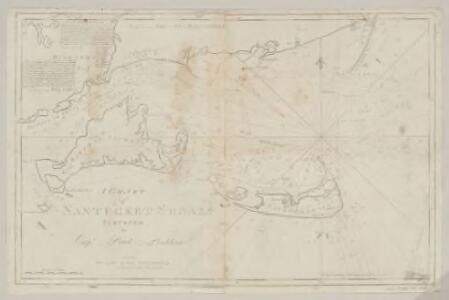 A chart of Nantucket shoals