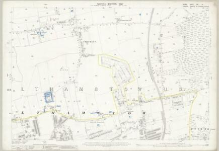 Essex (1st Ed/Rev 1862-96) LXV.10 (includes: Walthamstow) - 25 Inch Map