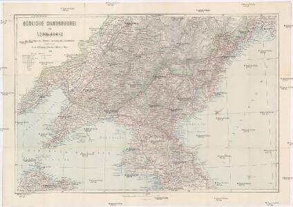 Südliche Mandschurei mit Nord-Korea