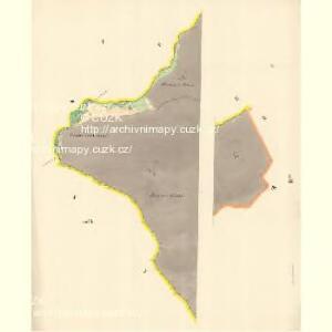 Mautzendorf (Motkow) - m1906-1-001 - Kaiserpflichtexemplar der Landkarten des stabilen Katasters