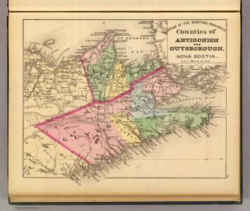 Antigonish, Guysborough counties, N.S.