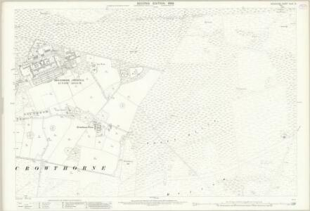Berkshire XLVII.9 (includes: Crowthorne; Easthampstead) - 25 Inch Map