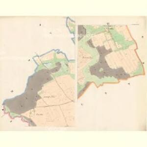 Subschitz - c9296-1-001 - Kaiserpflichtexemplar der Landkarten des stabilen Katasters