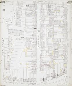 Insurance Plan of London South East District Vol. J: sheet 50