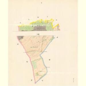 Petrowitz - c5739-1-001 - Kaiserpflichtexemplar der Landkarten des stabilen Katasters