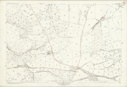 Devon LXXVI.3 (includes: Inwardleigh; Okehampton Hamlets) - 25 Inch Map