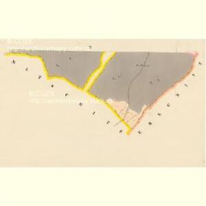 Damnětitz - c1059-1-002 - Kaiserpflichtexemplar der Landkarten des stabilen Katasters