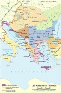 Lateinisches Kaiserreich 1204/1261
