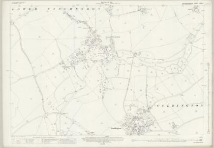 Buckinghamshire XXXII.4 (includes: Cuddington; Lower Winchendon) - 25 Inch Map