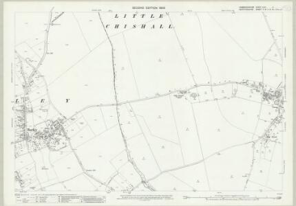 Cambridgeshire LXIIA.4 (includes: Barley; Great Chishill; Little Chishill) - 25 Inch Map