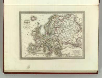 Carte Generale de Europe.