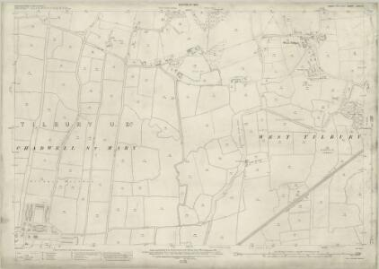 Essex (New Series 1913-) n XCV.8 (includes: Thurrock) - 25 Inch Map