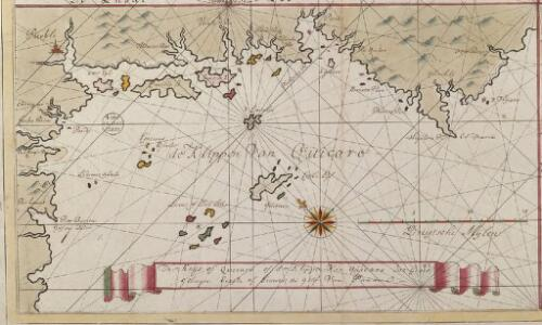 The Keijs of Quicaro of de Klippen van Quicaro int grood geleegen bezijde of beweste de Golf van Panama