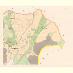 Schimanau (Ssimanow) - c7725-1-002 - Kaiserpflichtexemplar der Landkarten des stabilen Katasters