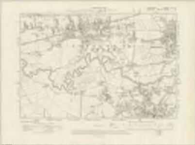Lancashire CX.NE - OS Six-Inch Map