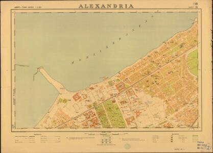 Egypt. Town Series, Alexandria (Sheet 14)