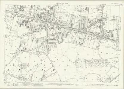 Kent VIII.4 (includes: Bexley) - 25 Inch Map