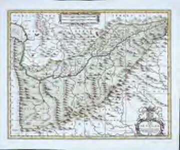 Carte du païs de Vallais, ou Wallisser-land