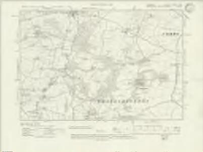 Somerset LXXXVII.SW - OS Six-Inch Map