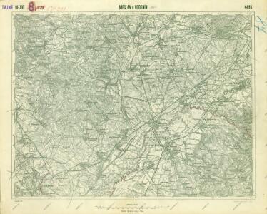 III. vojenské mapování 4458