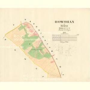 Howoran - m0869-1-001 - Kaiserpflichtexemplar der Landkarten des stabilen Katasters