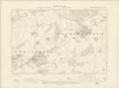 Herefordshire XXV.NW - OS Six-Inch Map
