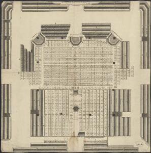 [Plan of the Amstel church in Amsterdam]