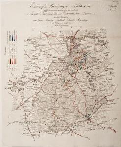 Entwurf der Bewegungen und Schlachten welche den 19. 20. 21. 22. und 23. April 1809 zwischen den Alliirt. Französischen und Oestreichischen Armeen in den Gegenden von Tann, Abensberg, Landshuth, Ekmühl, Regensburg, die Campagne eröffneten
