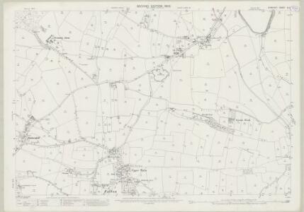 Somerset XI.4 (includes: Backwell; Barrow Gurney; Winford; Wrington) - 25 Inch Map