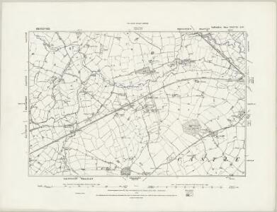 Staffordshire XXXVI.NE - OS Six-Inch Map