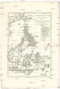 La presqu'isle de l'Indie au dela du Gange, avec l'archipel des Indes