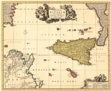 Regnum Siciliae Cum circumjacentibus Regnis et Insulis Nuperrime