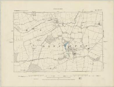 Nottinghamshire XXV.SE - OS Six-Inch Map