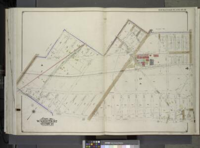 Brooklyn, Vol. 3, Double Page Plate No. 31; Part of Wards 29-32, Section 24; [Map bounded by Avenue D, E. 57th St., Beverley Rd., Remsen Ave.; Including Farragut Rd., Glenwood Rd., Utica Ave., E. 51st St.] / by and under the direction of Hugo Ullitz.